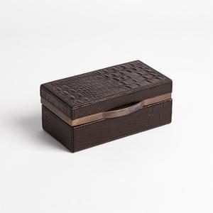 Thumbnail of GLOBAL VIEWS - Croc Box, Chocolate, Small