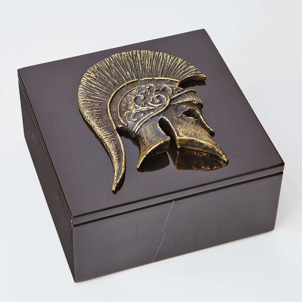GLOBAL VIEWS - Greek Helmet Box Top