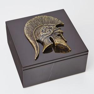 Thumbnail of GLOBAL VIEWS - Greek Helmet Box Top