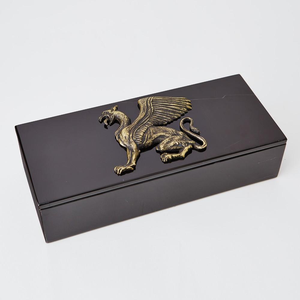 GLOBAL VIEWS - Griffon Dragon Box Top