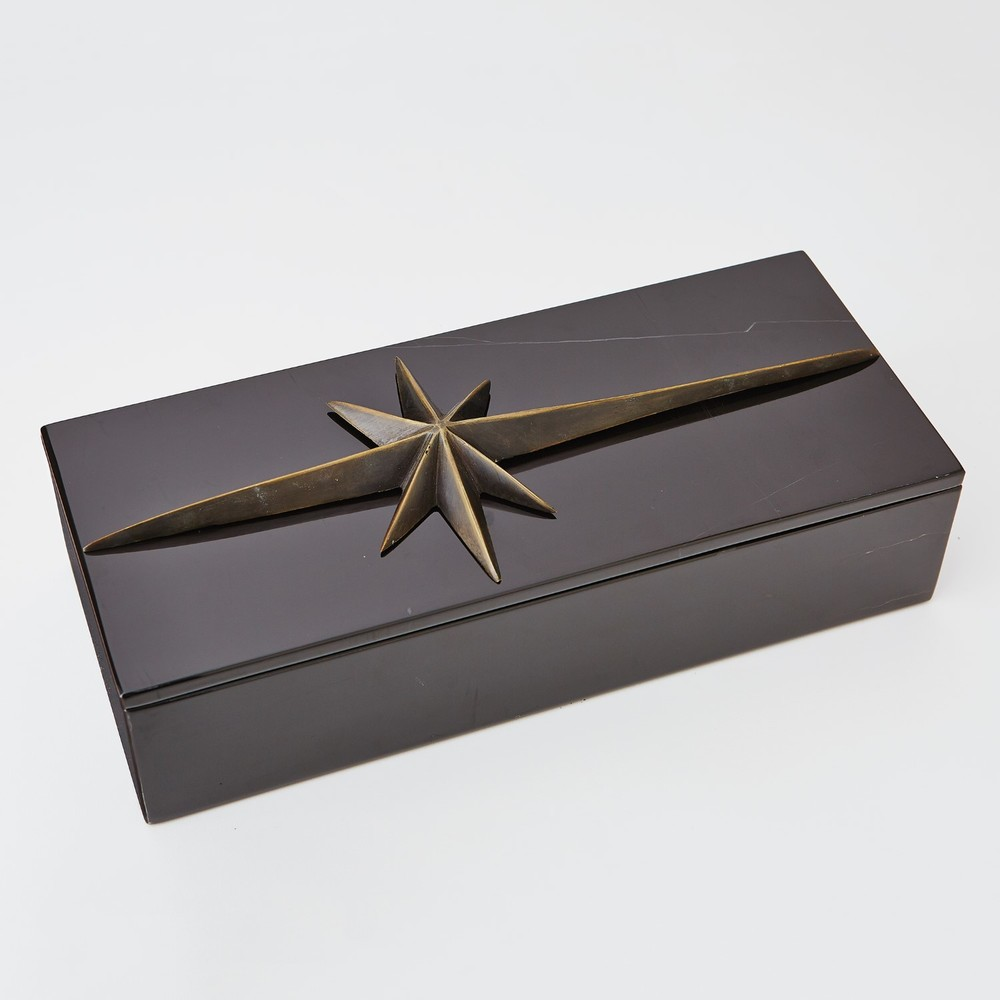 GLOBAL VIEWS - Compass Rose Box Top