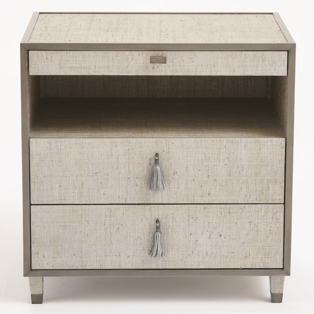 Global Views - Argento Bedside Chest