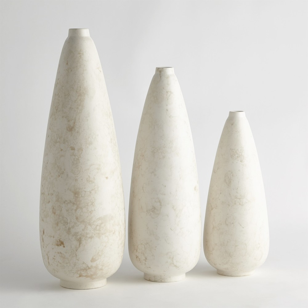 Global Views - Bubble Pear Shape Vase, Medium