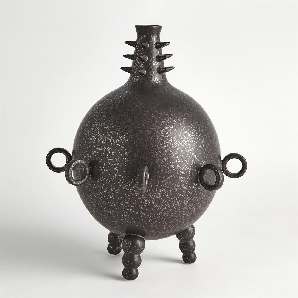 Global Views - Rings Spikes Vase, Short