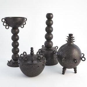 Thumbnail of Global Views - Rings Spikes Jar