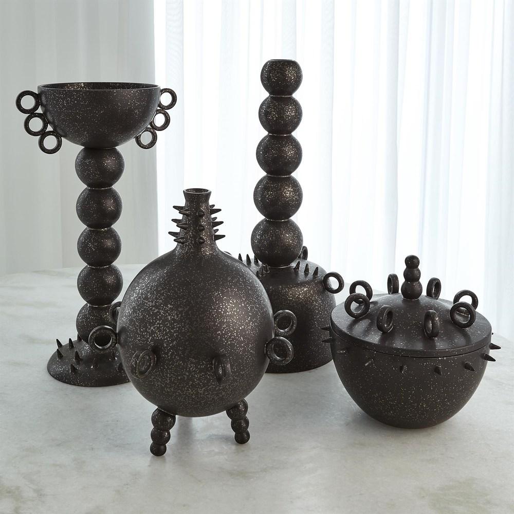 Global Views - Rings Spikes Vase, Tall