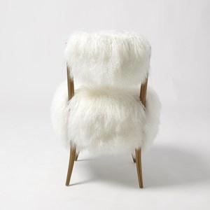 Thumbnail of Global Views - Hailey Chair, Mongolian Lamb
