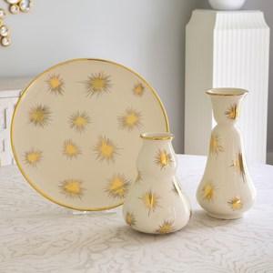 Thumbnail of Global Views - Gold Starburst Vase, Small