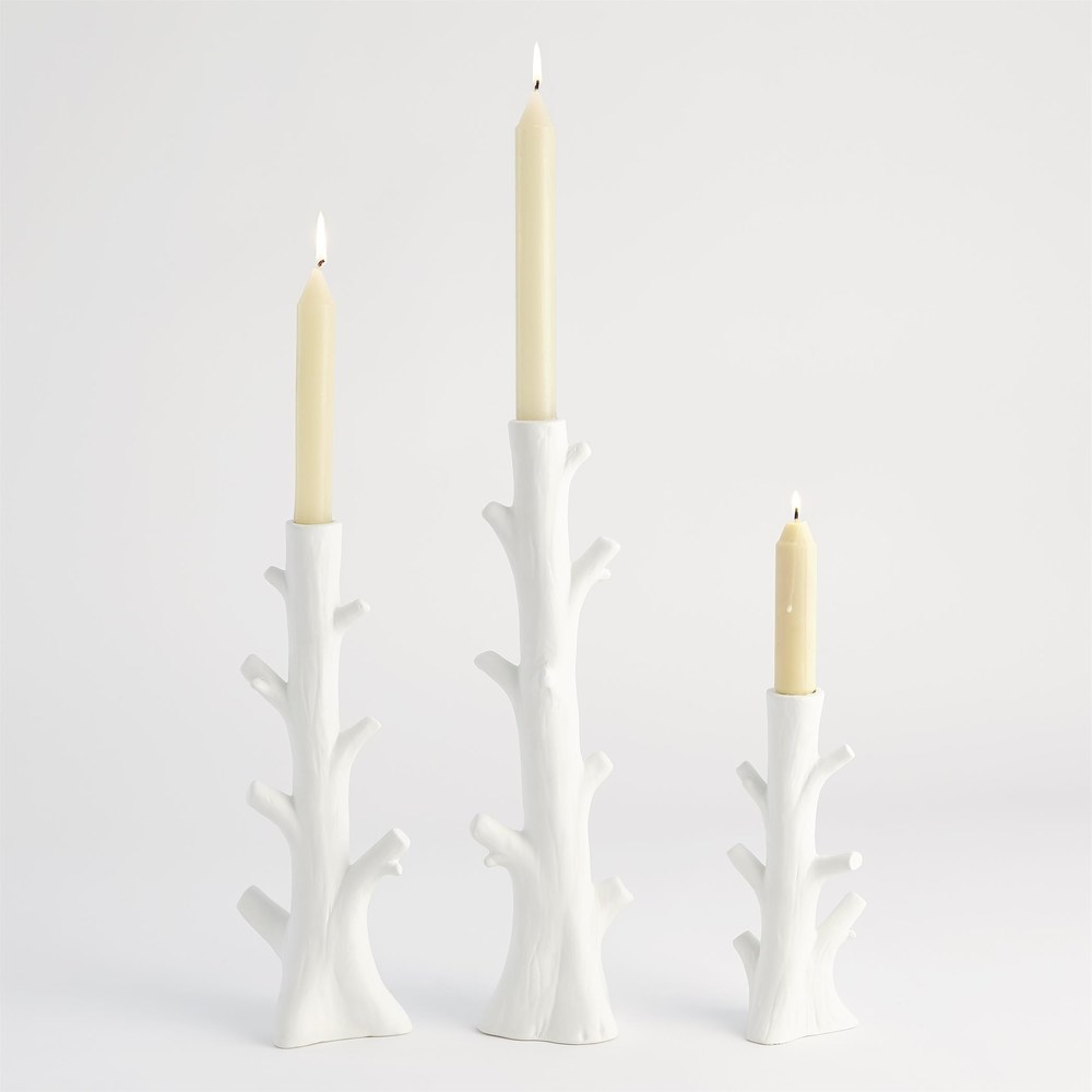 Global Views - Bois Candle Holder, Large