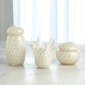Thumbnail of Global Views - Glass Handkerchief Vase