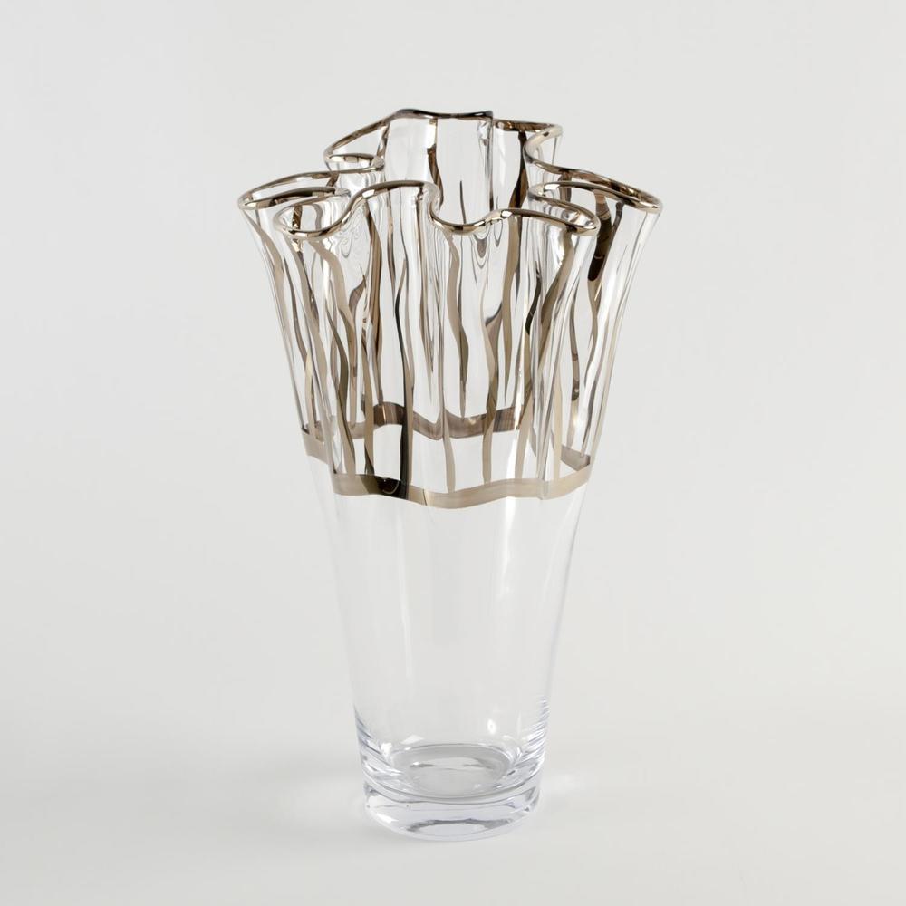 GLOBAL VIEWS - Tropaz Vase, Medium