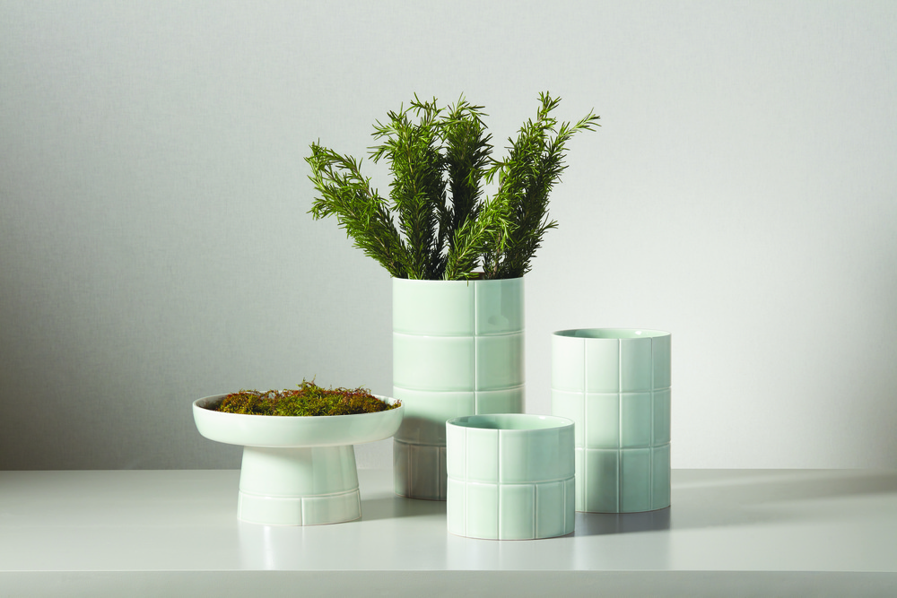 Global Views - Glassblock Vase, Large