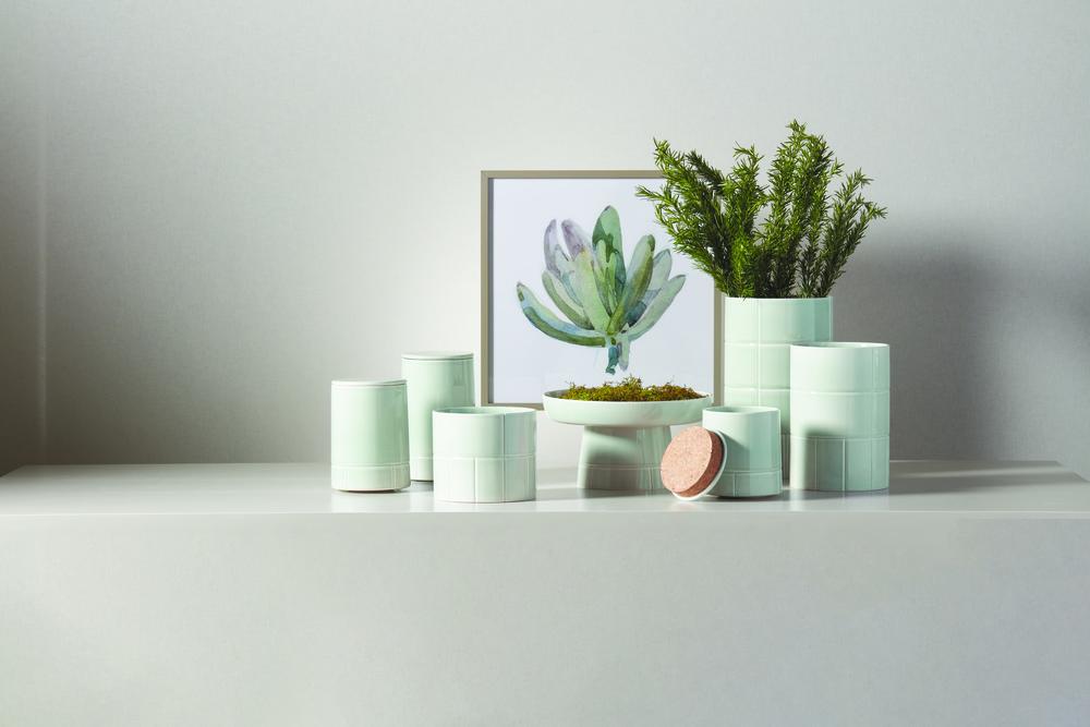 Global Views - Glassblock Vase, Medium