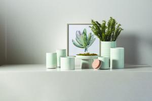 Thumbnail of Global Views - Glassblock Vase, Medium