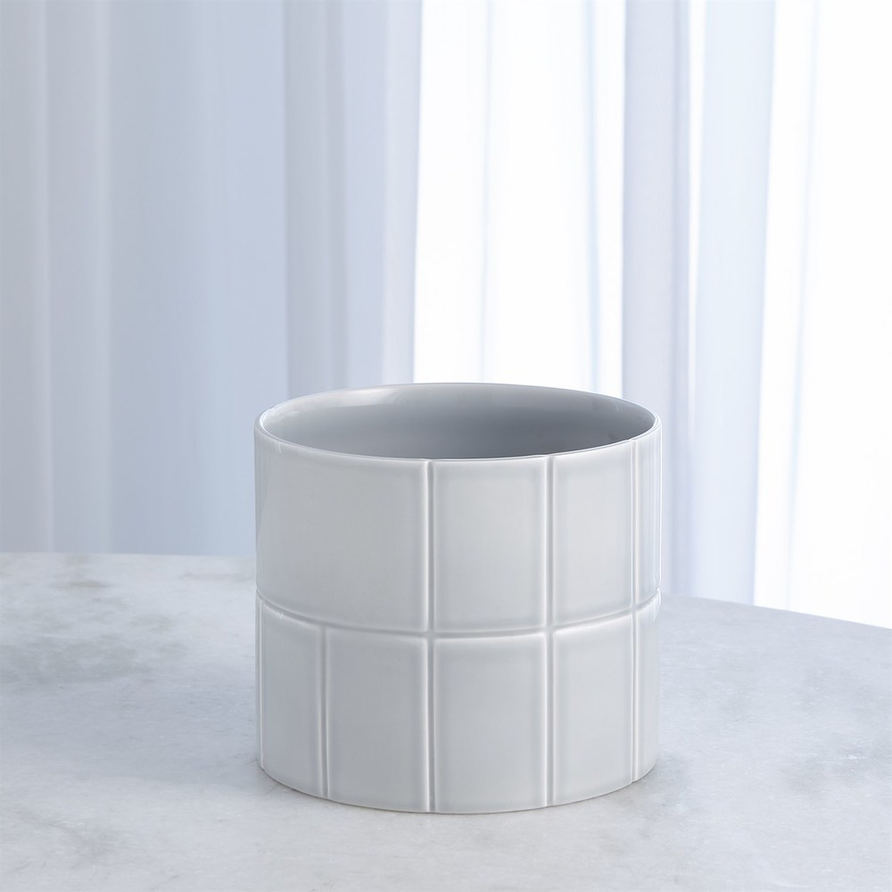 Global Views - Glassblock Vase, Small