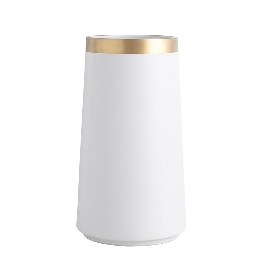 Global Views - Modern Gold Banded Vase, Large