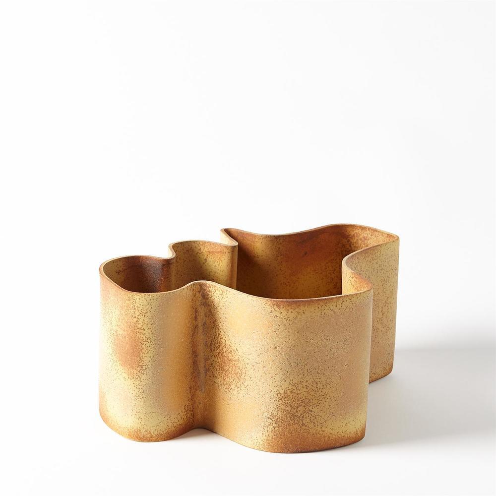 GLOBAL VIEWS - Plie Vase, Small