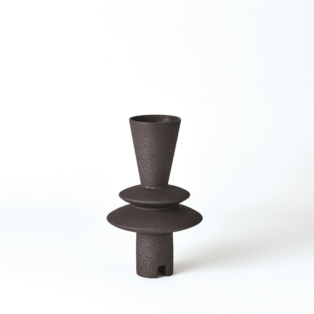 GLOBAL VIEWS - Adelyn Geometric Vase