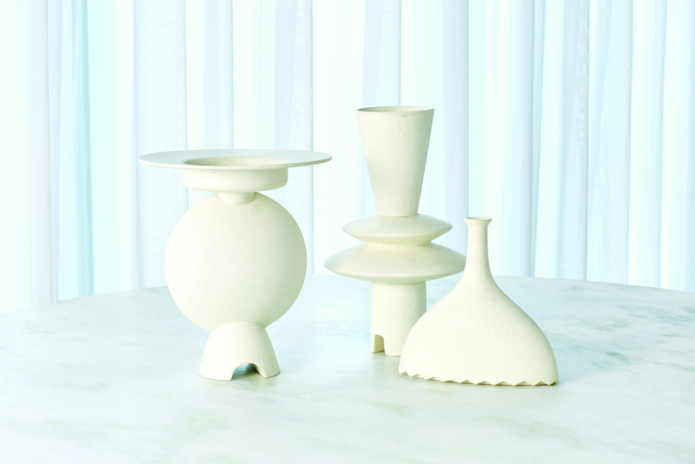 GLOBAL VIEWS - Noelle Geometric Vase