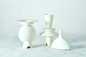 Thumbnail of GLOBAL VIEWS - Noelle Geometric Vase