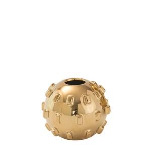 Thumbnail of Global Views - Thielo Vase, Gold, Small