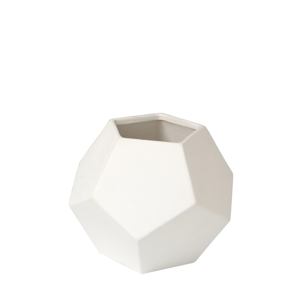 Global Views - Faceted Vase