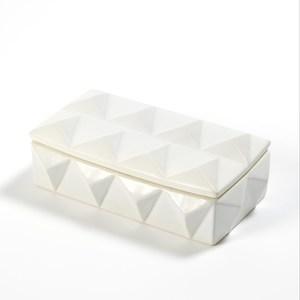 Thumbnail of Global Views - Braque Box, Matte White, Medium