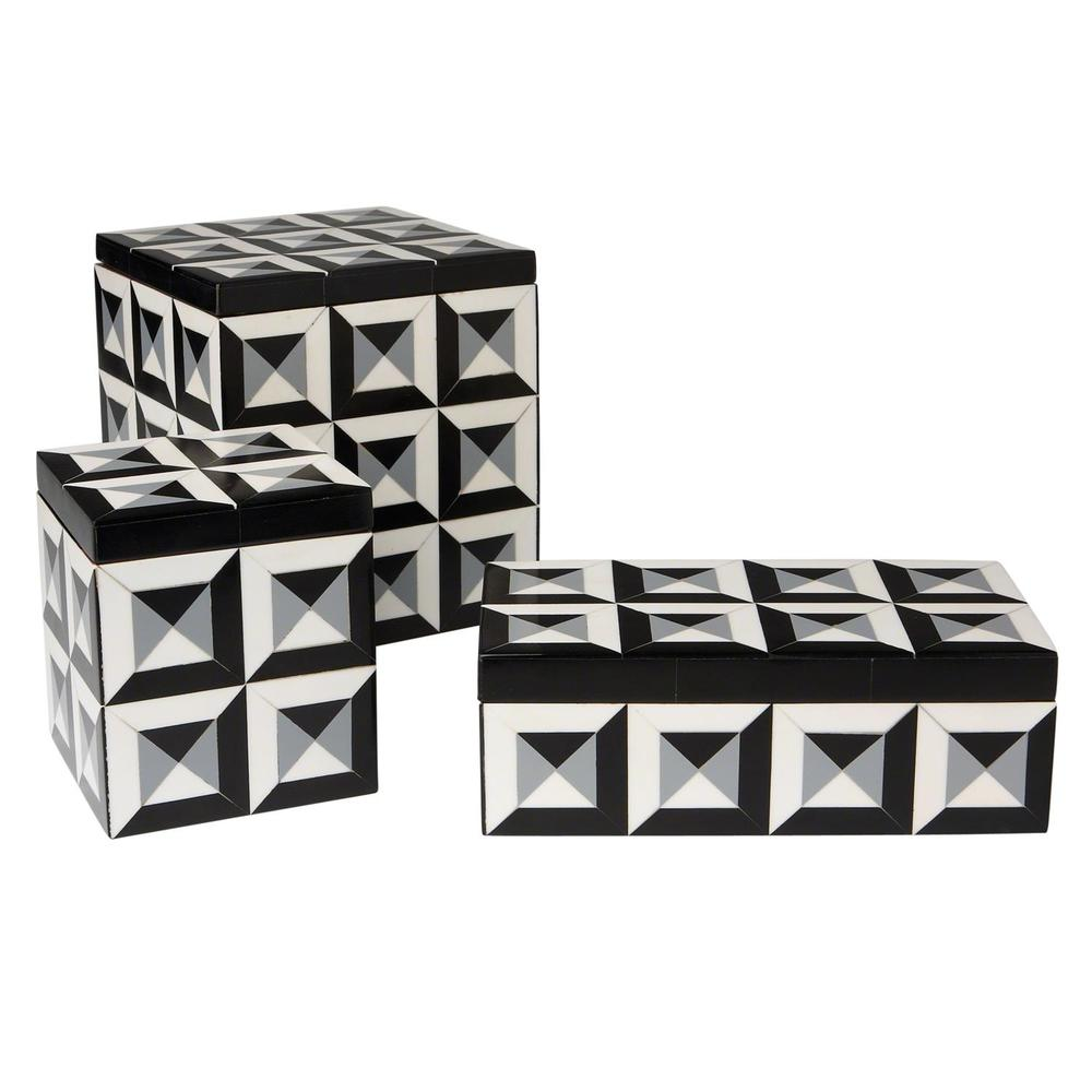Global Views - Deco Border Square Box