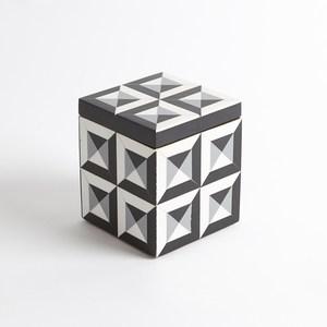 Thumbnail of Global Views - Deco Border Square Box, Small