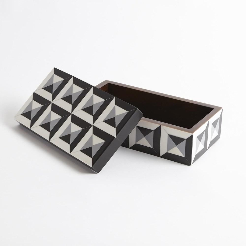 Global Views - Deco Border Rectangular Box