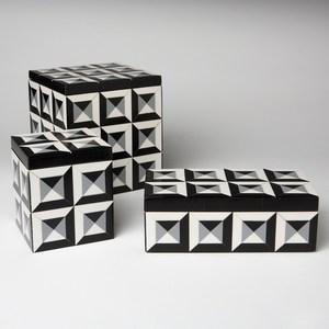 Thumbnail of Global Views - Deco Border Rectangular Box