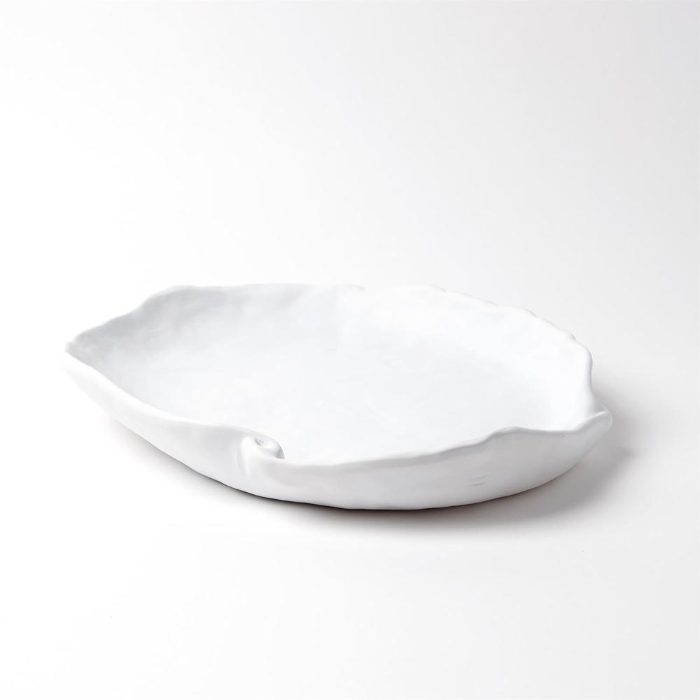 Global Views - Petale Bowl, Matte White