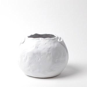 Thumbnail of Global Views - Petale Vase, Matte White, Medium