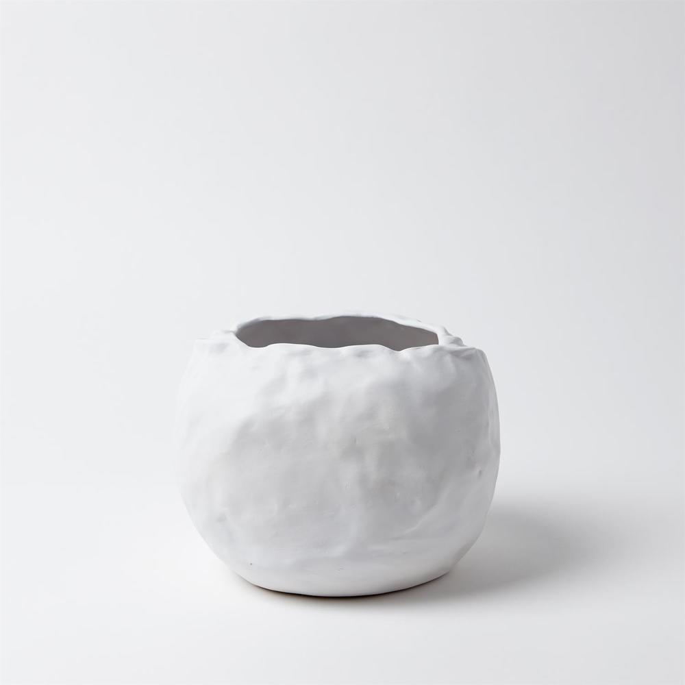 Global Views - Petale Vase, Matte White, Small