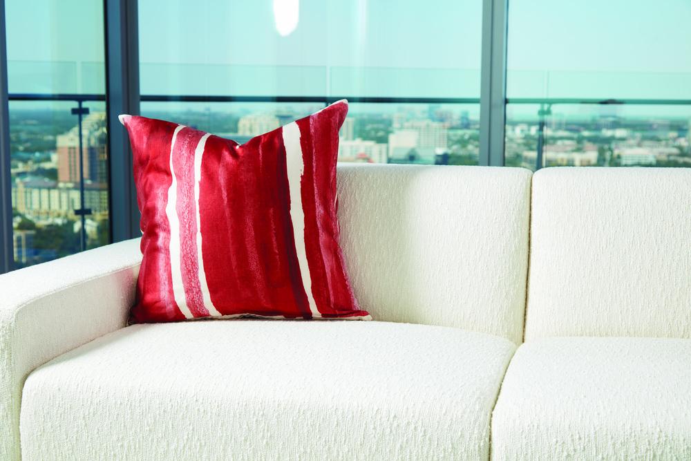 Global Views - Mon Coeur Pillow, Cinnabar