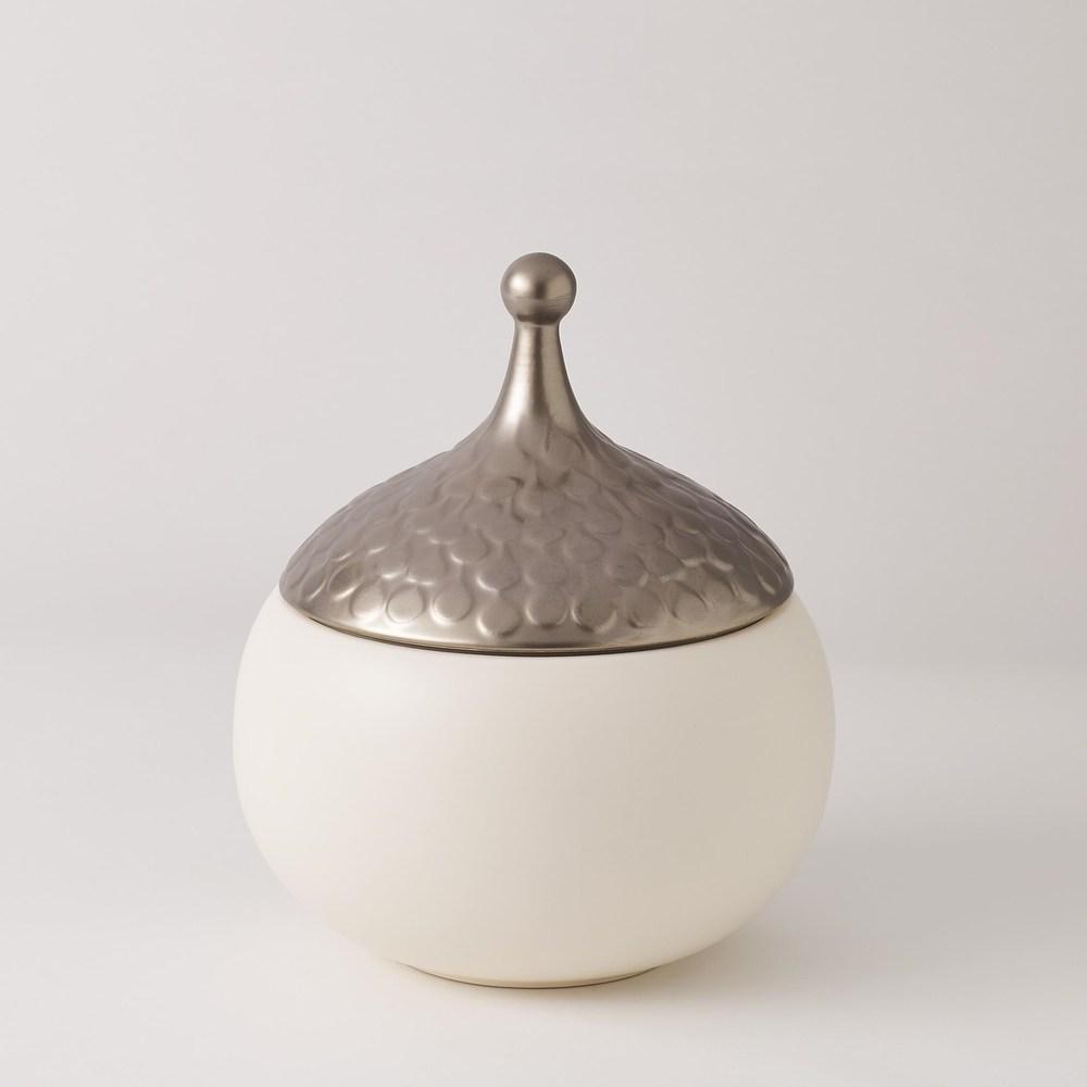 Global Views - Teardrop Vase, Snow, Medium