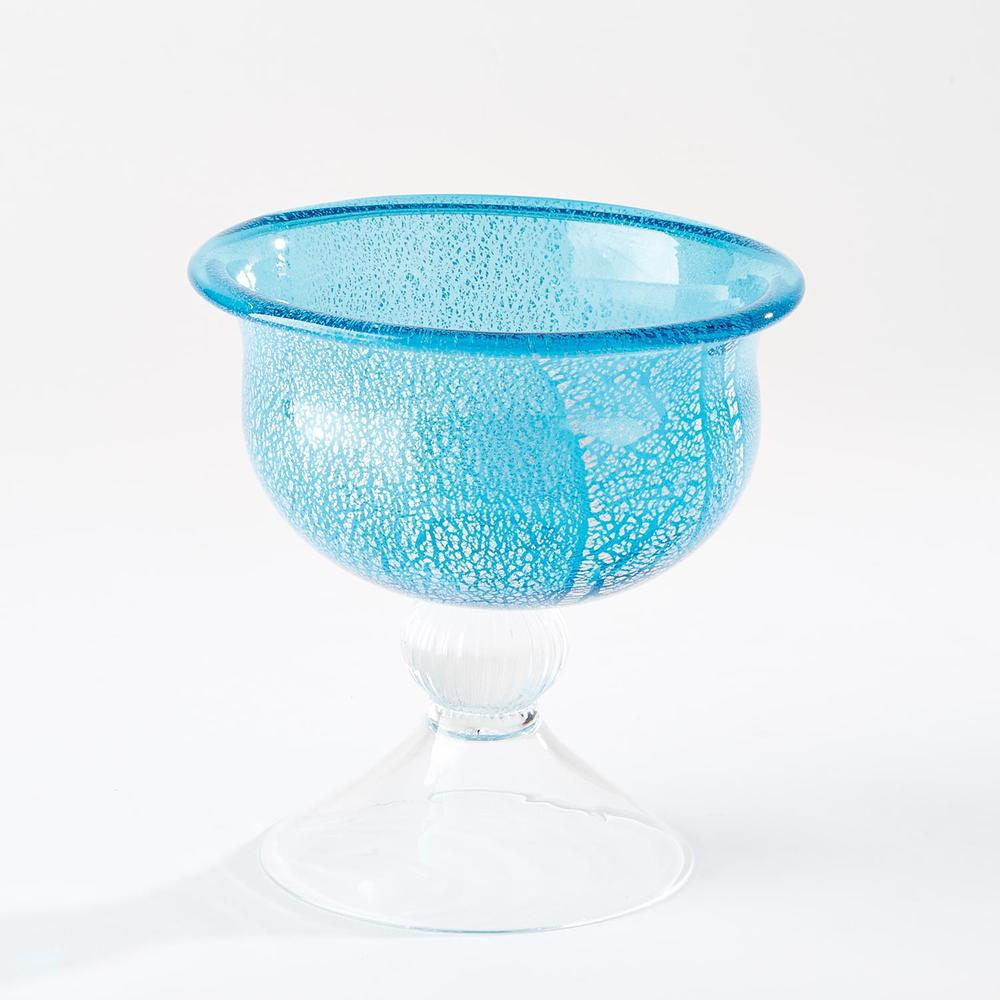 Global Views - Granilla Pedestal Bowl, Small
