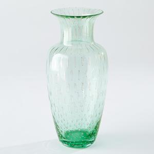 Thumbnail of GLOBAL VIEWS - Granilla Green Urn with Golden Bubbles
