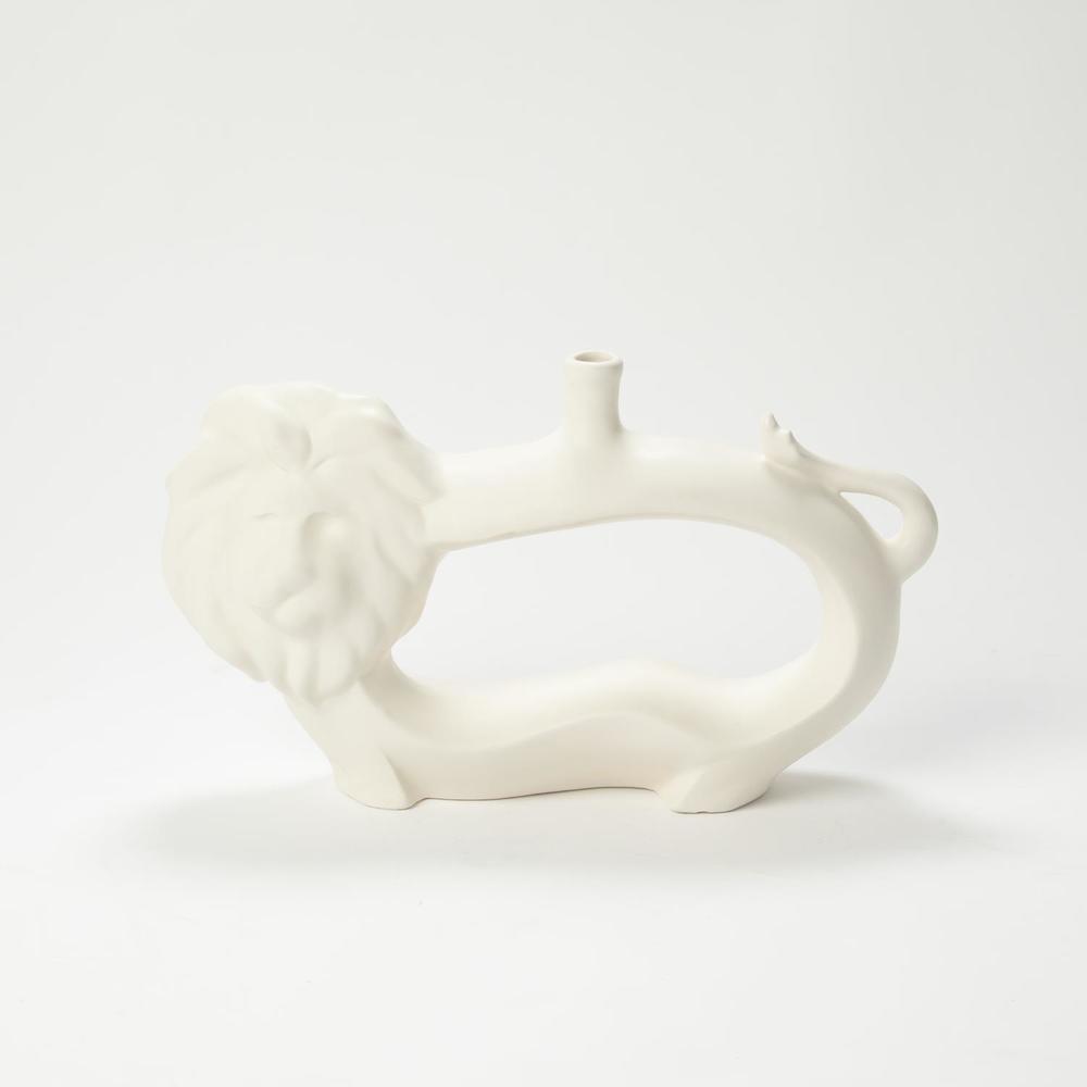 GLOBAL VIEWS - Lion Vase