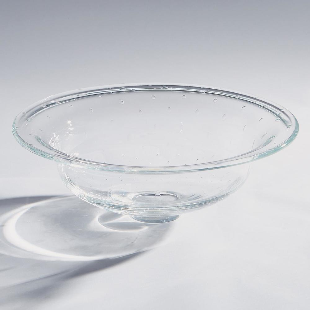 Global Views - Clear Perfect Compote with Spiral Bubbles
