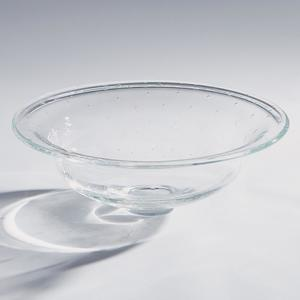 Thumbnail of Global Views - Clear Perfect Compote with Spiral Bubbles