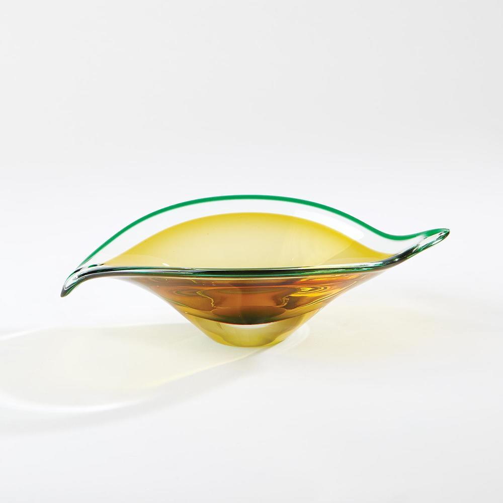 GLOBAL VIEWS - Bent Leaf Bowl, Small