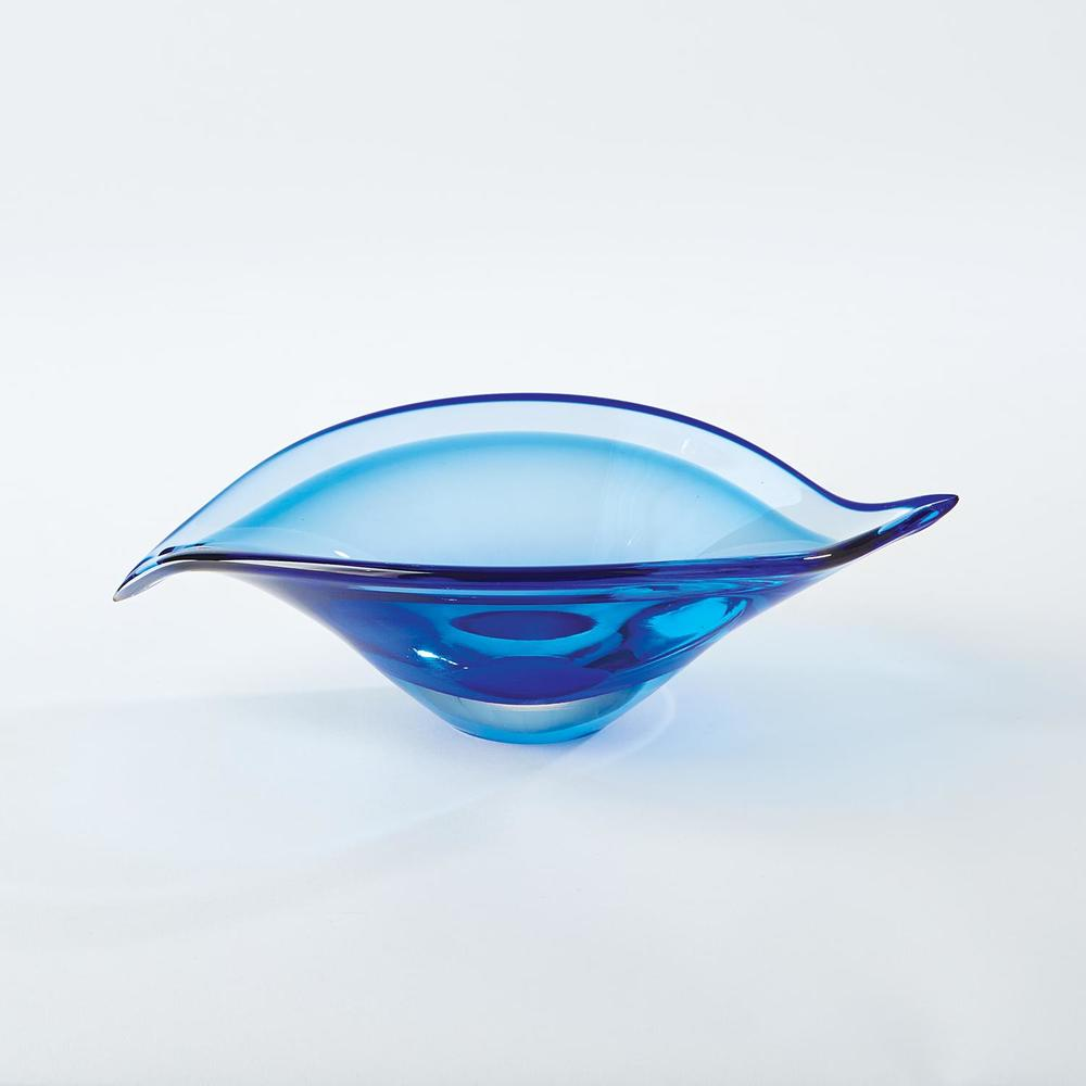 GLOBAL VIEWS - Bent Leaf Bowl, Small