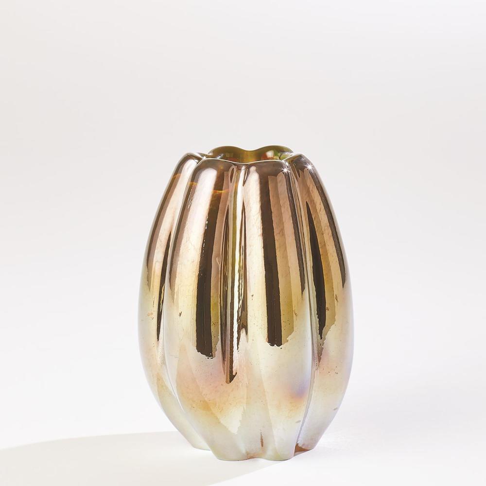 Global Views - Ribbed Vase, Medium