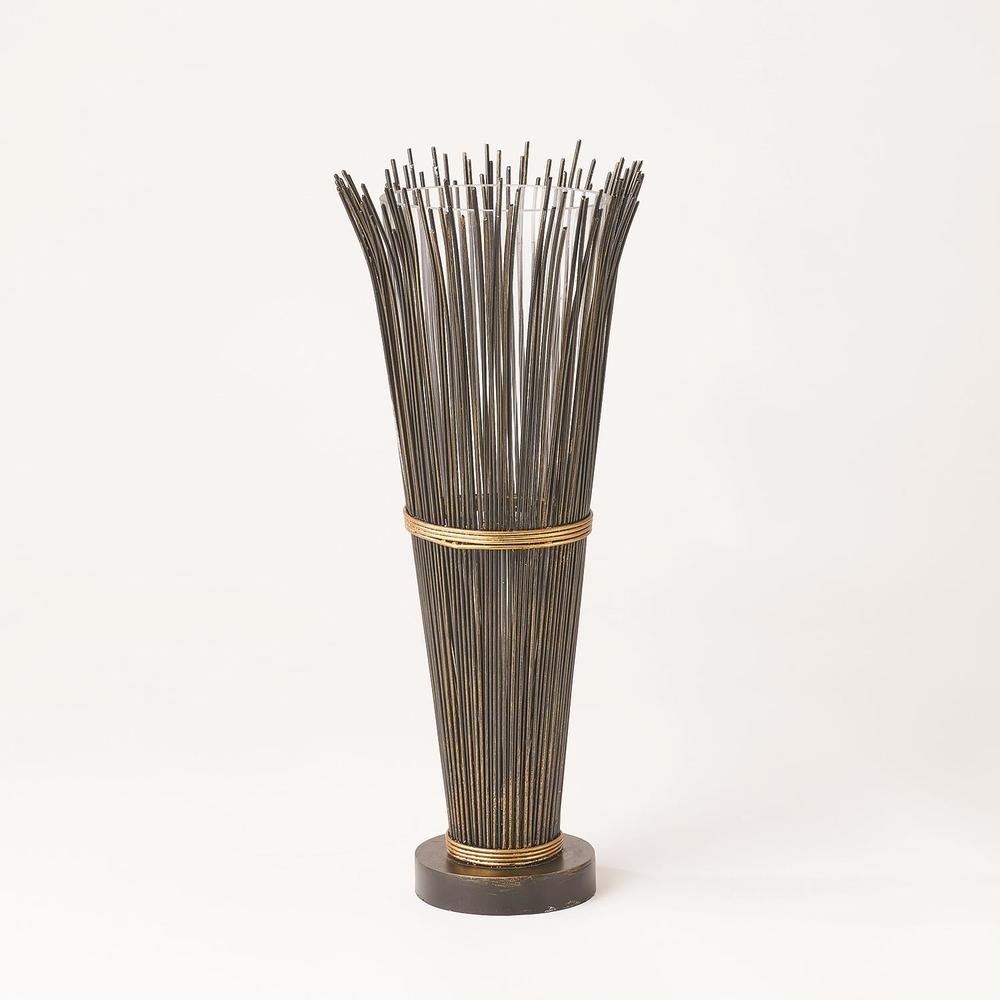 GLOBAL VIEWS - Wire Vase, Small
