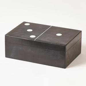 Thumbnail of GLOBAL VIEWS - Dominoes Box, Large