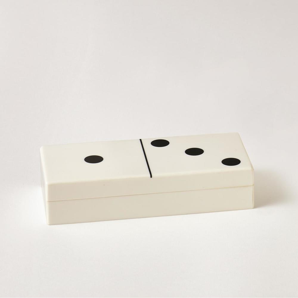 GLOBAL VIEWS - Dominoes Box, Small