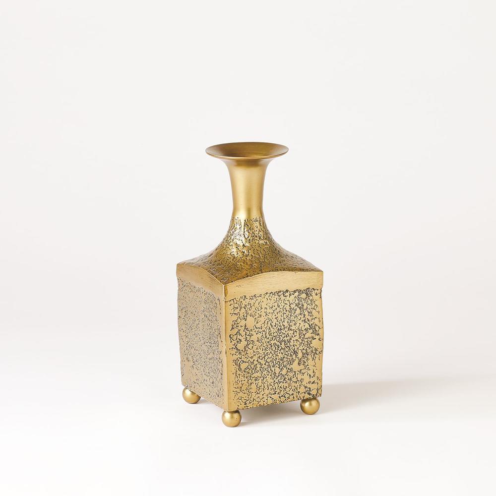 GLOBAL VIEWS - Aluminum Bottle Vase, Small