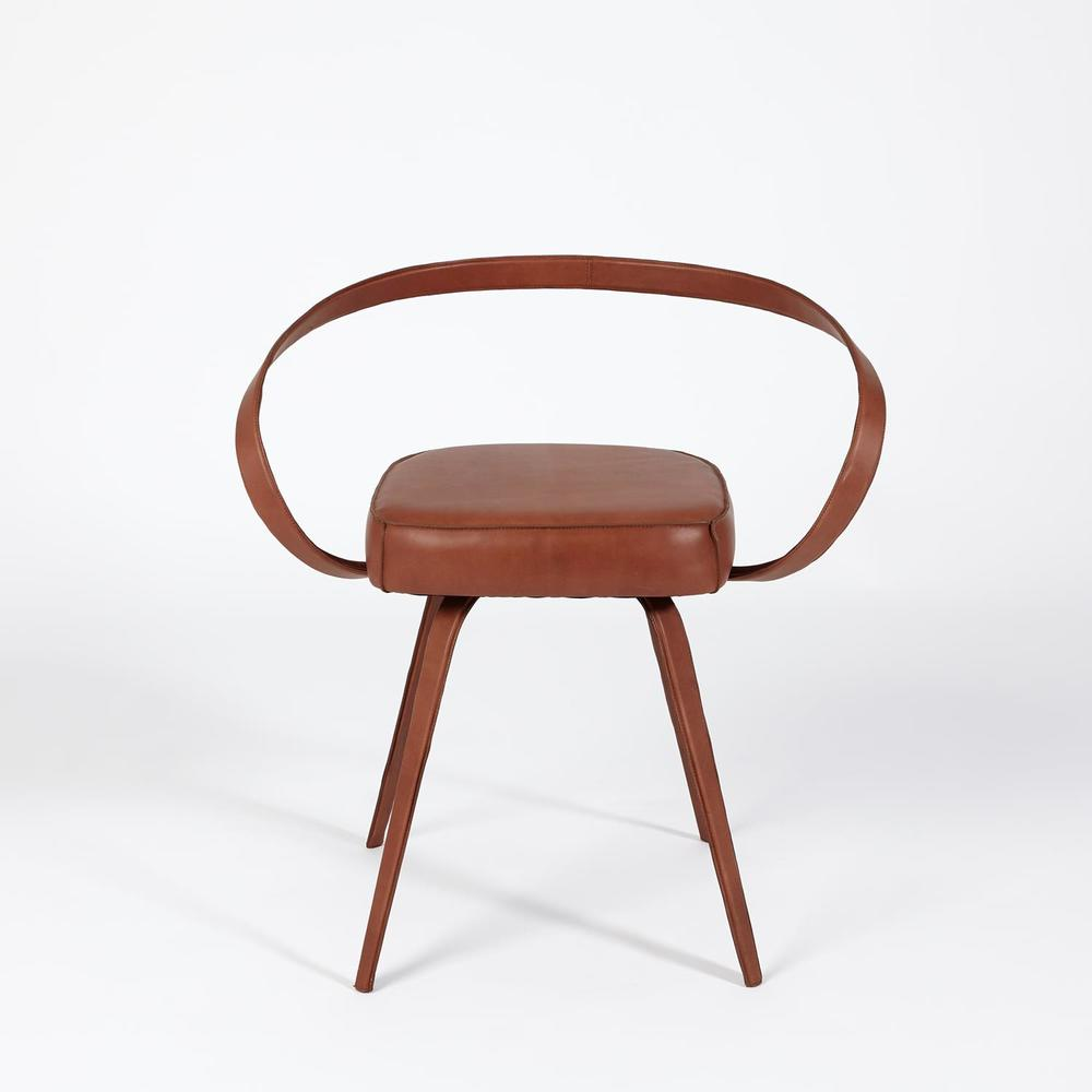 GLOBAL VIEWS - All Leather Chair