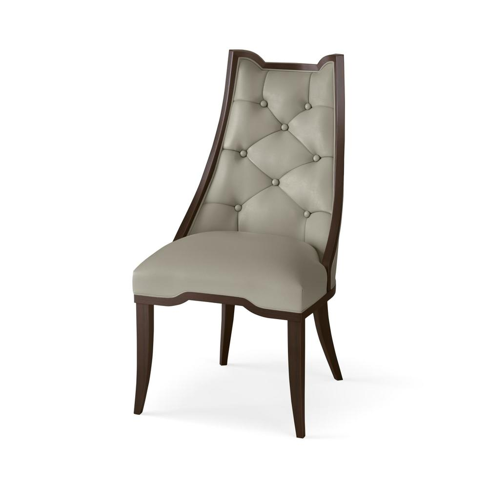 Global Views - Logan Leather Dining Chair